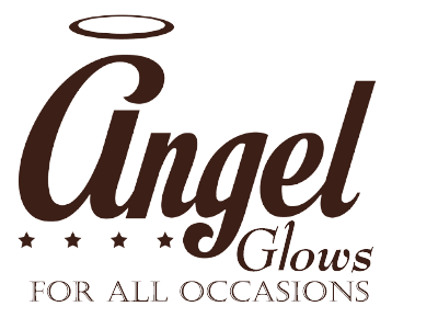 Angel Glows - Angel Scaped Wood Craved Sculptures